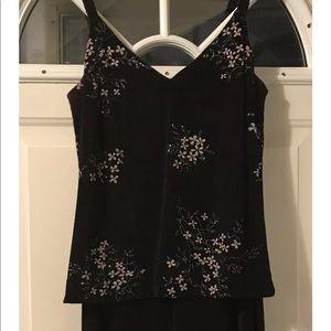 Vintage En Francais Huey Waltzer Dress Gown Sz 10